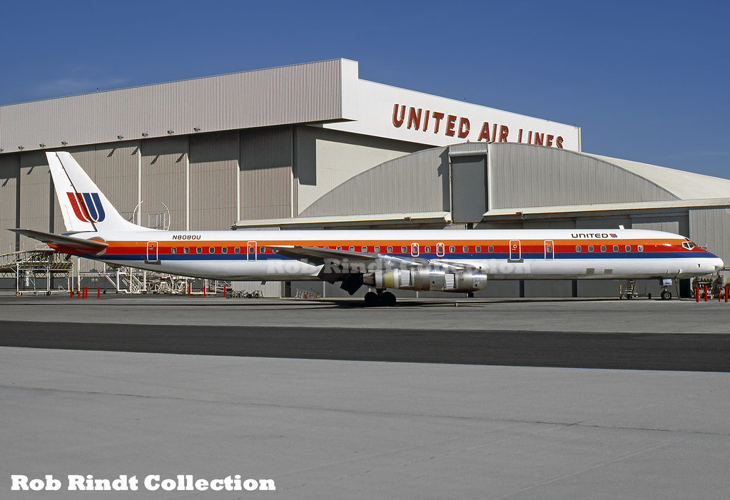 United Airlines DC-8-61 N8080U