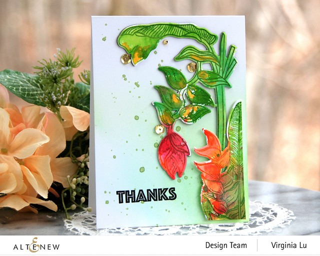 Altenew-Tropical Jungle Stamp Set-Tropical Jungle Die Set