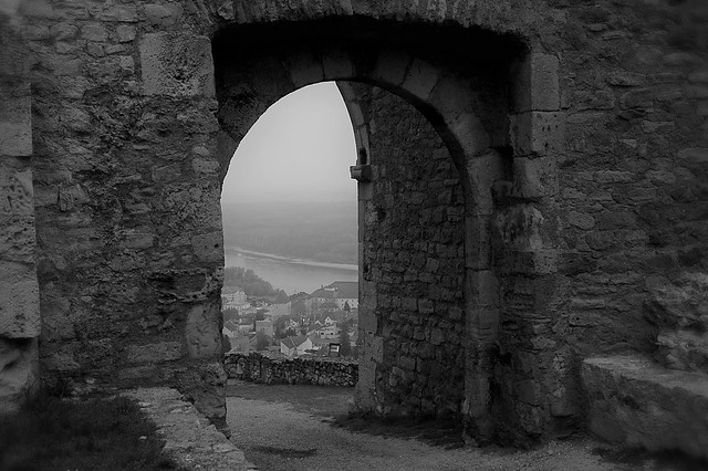 Castle of Hainburg, lower Austria