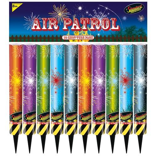Air Patrol Shot Tubes by Standard Fireworks UK