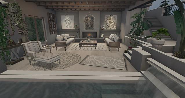 Whimsy Decor - Siren's Living Room
