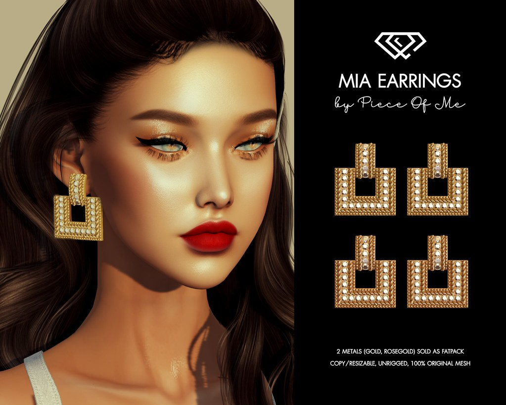 Mia Earrings @2Much Event on April. 29th