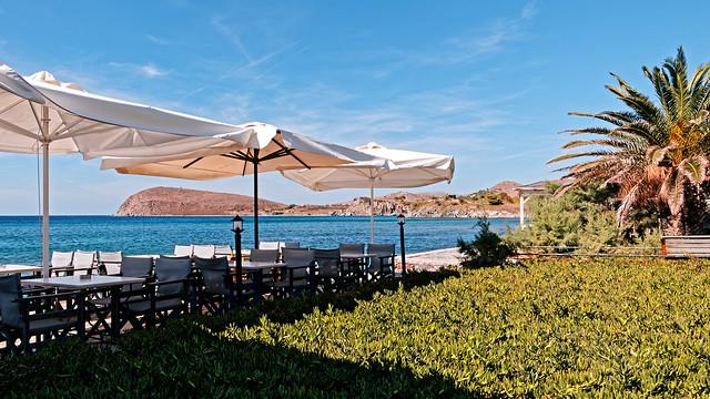 Cafe -Bar (Romeikos Gialos Seafront Area - Myrina) Lemnos - Greece (Panasonic LX15