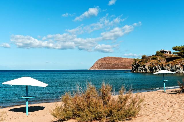 A Lemnos Beach ( Romeikos Gialos - Myrina) Panasonic LX15