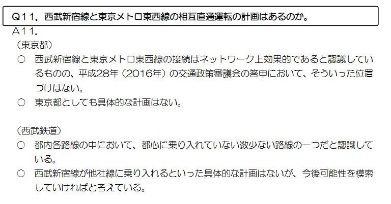 西武新宿線 国鉄新宿駅乗り入れ計画 (99)