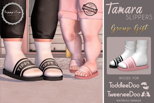 .Tippy.Tap. NEW GROUP GIFT - TAMARA Slippers