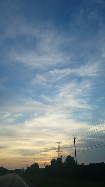 Sunset Blueset