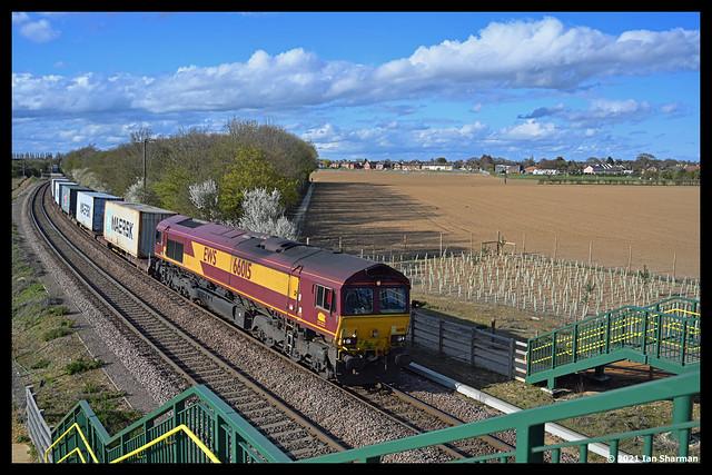No 66015 14th April 2021 Gun Lane Trimley