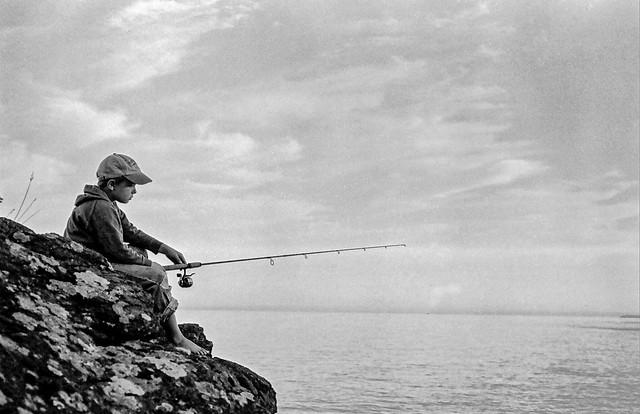 The Pensive Fisherman