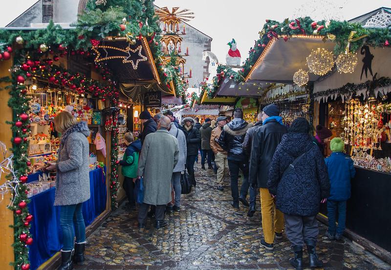 Le marché de noël en une image / Der Weihnachtsmarkt in einem Bild