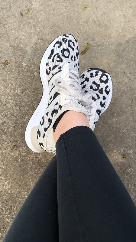 Animal Print Adidas Sneakers
