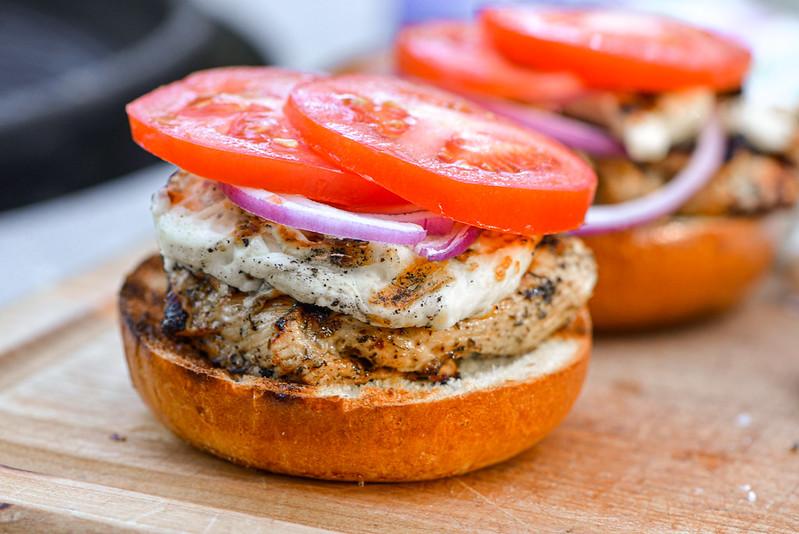 Chicken & Halloumi Sandwiches