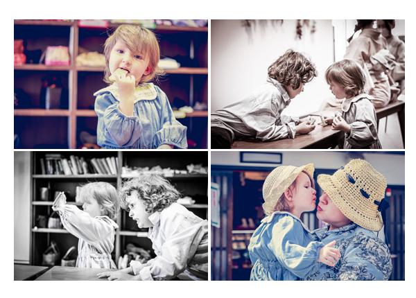 two kids - boy and girl, spring 2021, Inuyama, Aichi, Japan