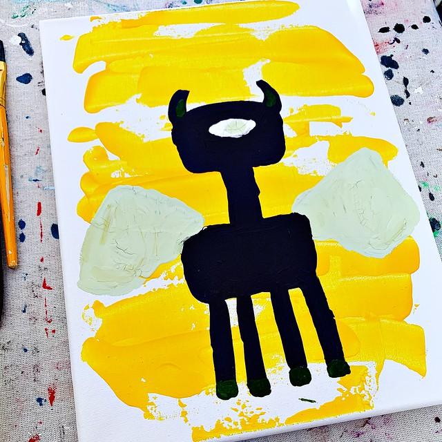 WIP Angel Painting