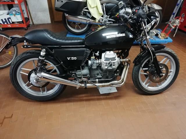 Moto Guzzi V50 ex PA