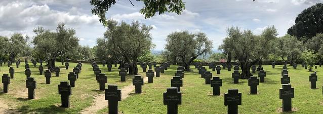 Cementerio de los alemanes en Cuacos de Yuste (Cáceres)