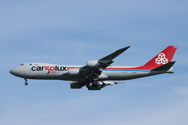 LX-VCC 747 Stansted