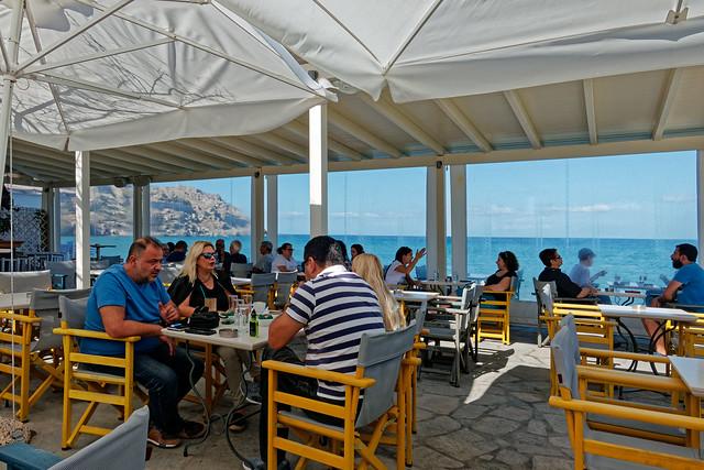 Morning Coffeees and Drinks (Cafe Isalos - Myrina Town - Lemnos) Panasonic LX15