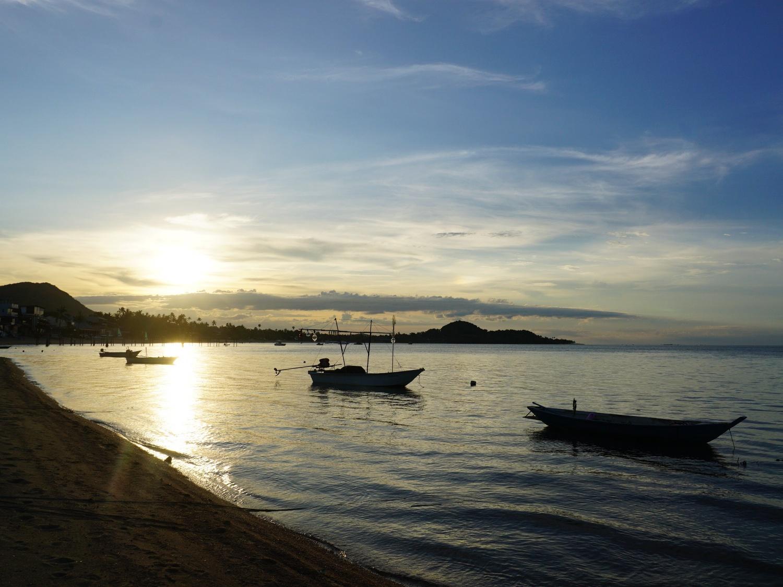 Koh Samui beach sunset