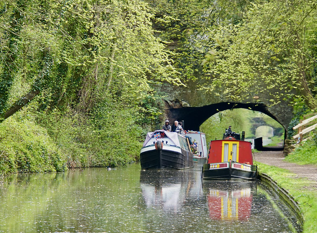 Entrance to Cowley Tunnel, Shropshire Union Canal