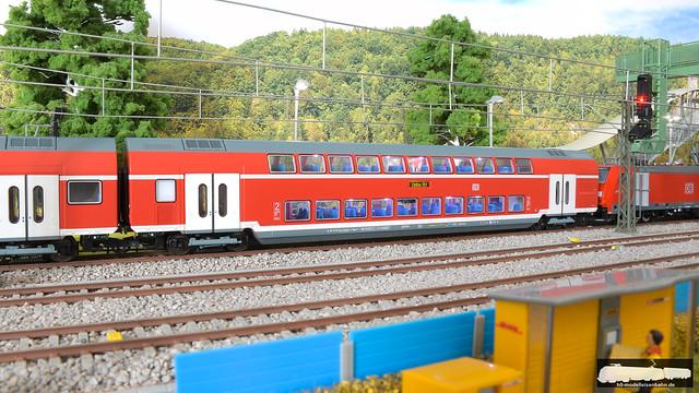 Roco / hobby trade 74152 Doppelsteuerwagen der Bauart DBpza der DB AG