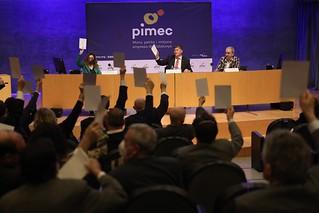 Assemblea General de PIMEC 2021. Celebrada a l'Auditori Axa de L'Illa Diagonal.