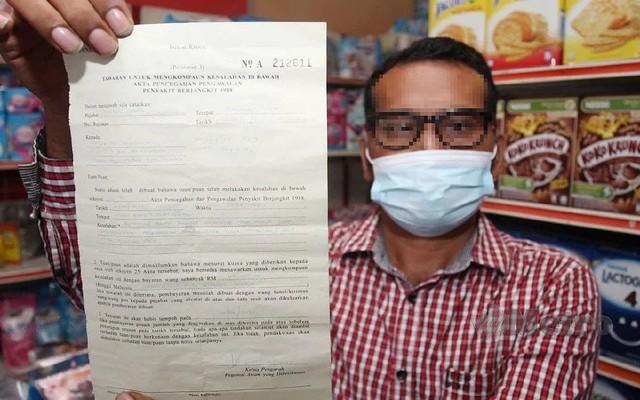 Tidak Mampu Bayar Kompaun RM50,000, Peniaga Di Kelantan Ini Rela Kedai Runcit Disita