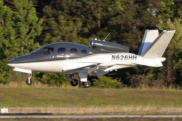 N626HH - Cirrus SF50-G2 - KPDK - Apr 2021