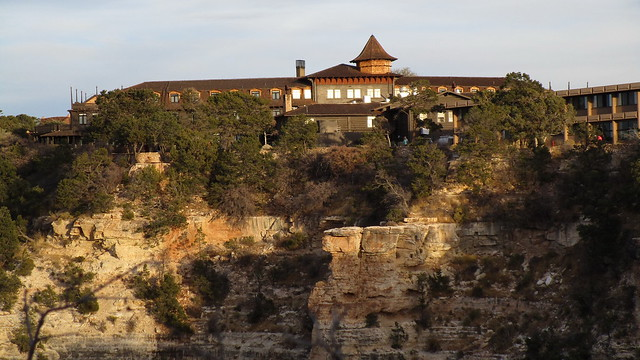 Arizona - Grand Canyon: El Tovar Hotel – built in 1903- is located in Grand Canyon Village @ South rim