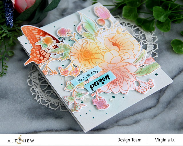 Altenew-Simply Spring Stamp & Die Bundle-Dovetail Butterflies Stamp & Die Bundle-002