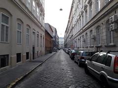Budapest Street Vanishing Point