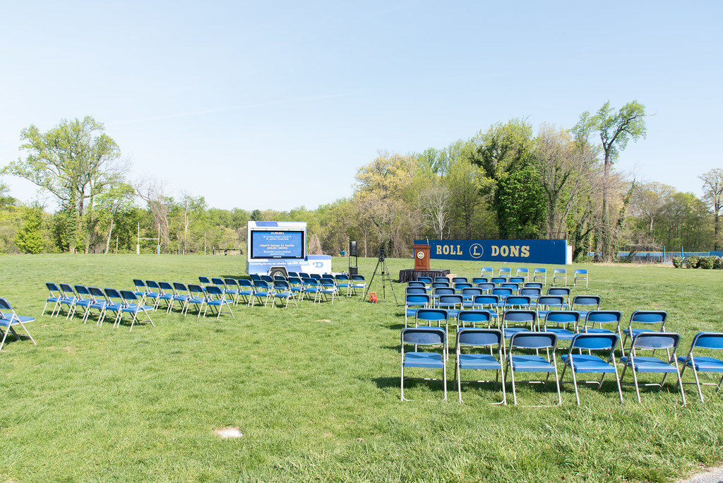 Bolte-Breschi Athletic Complex Ground Blessing Ceremony