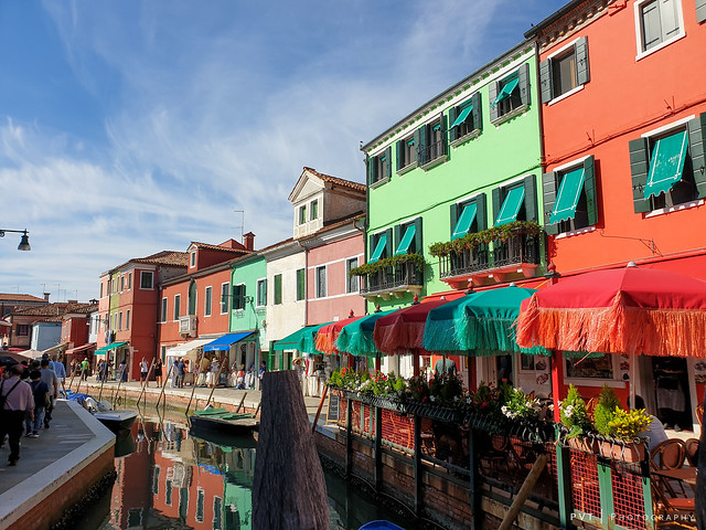 The Beautiful colours of Burano