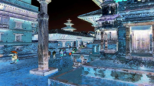Nepal - Patan - Durbar Square - 99ee