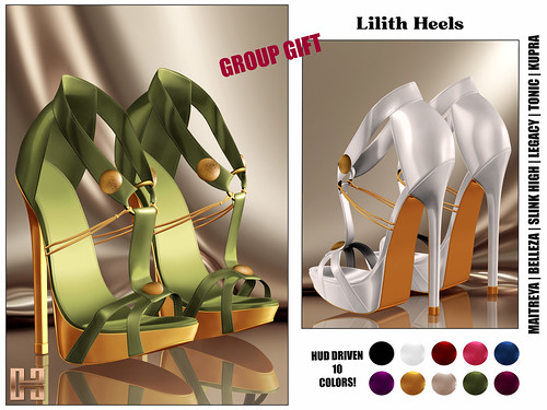 Hilly Haalan - Group Gift Lilith Heels