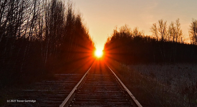 Sunrise in Moncton