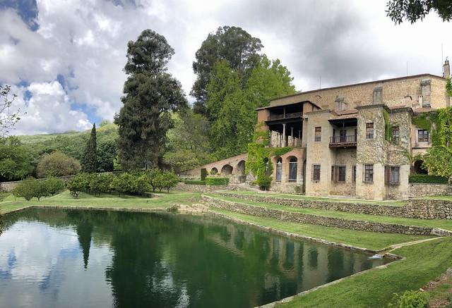 Monasterio de Yuste (vista desde el estanque de Juanelo Turriano)