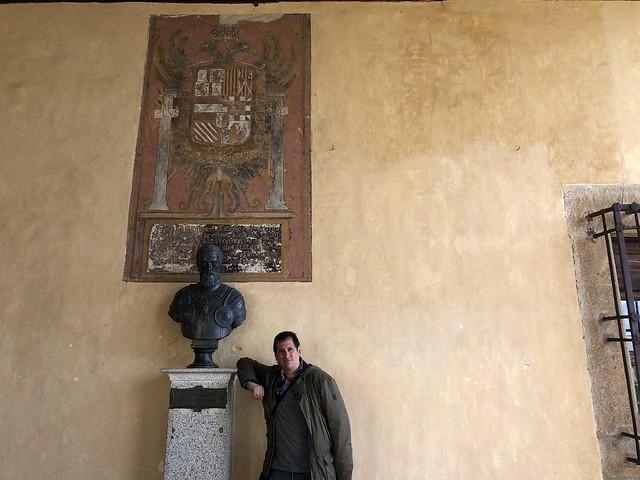 Sele en el monasterio de Yuste (Cáceres)