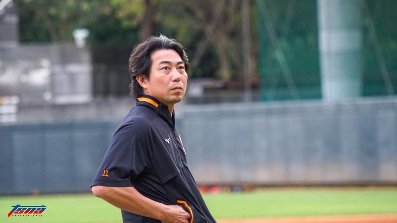 統一獅林岳平總教練。(資料照。攝影賴柏安/現場拍攝)