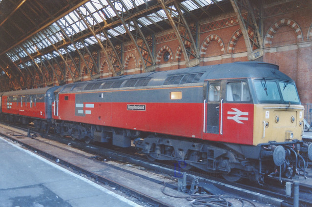 47625 at St Pancras