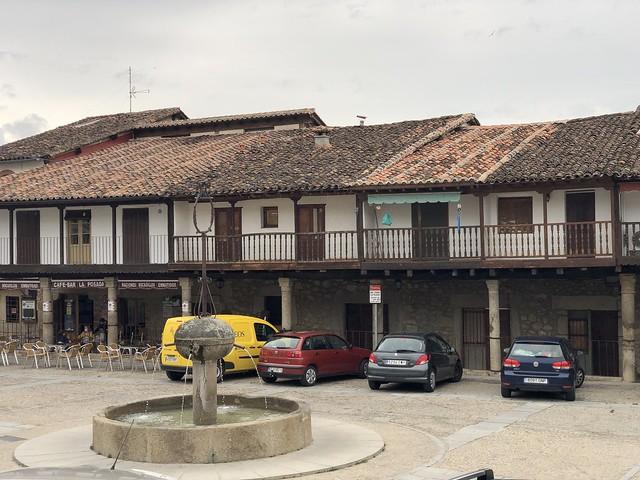 Plaza de España en Cuacos de Yuste (Cáceres)
