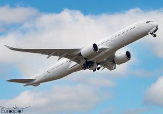 F-WXAQ Airbus A350-941 Alafco s/n 338 * Toulouse Blagnac 2021 *