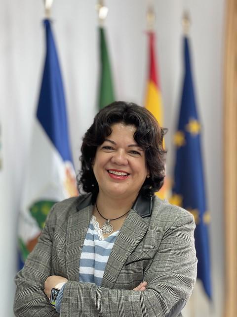 María Eugenia Moreno - Alcaldesa de Huévar
