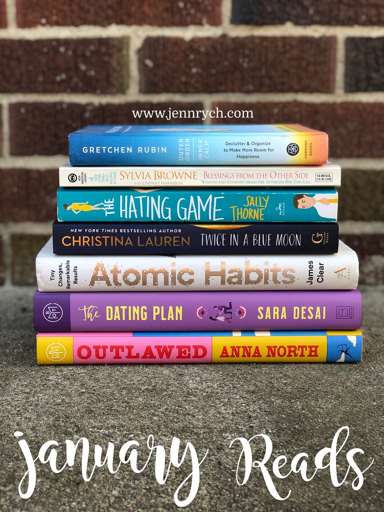 All the books I read in January 2021