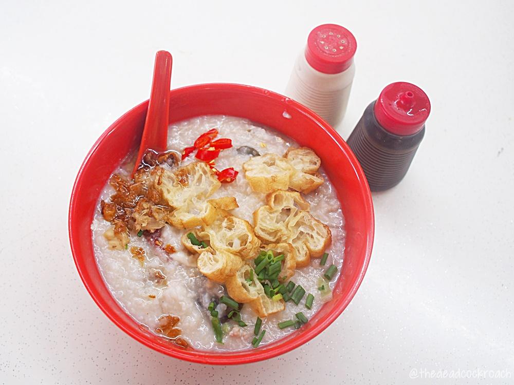 柔佛律文记猪肉粥,johor road boon kee pork porridge,singapore,food review,food review,porridge,hainan,hainanese,hainanese porridge,pork porridge,blk 638 veerasamy road,