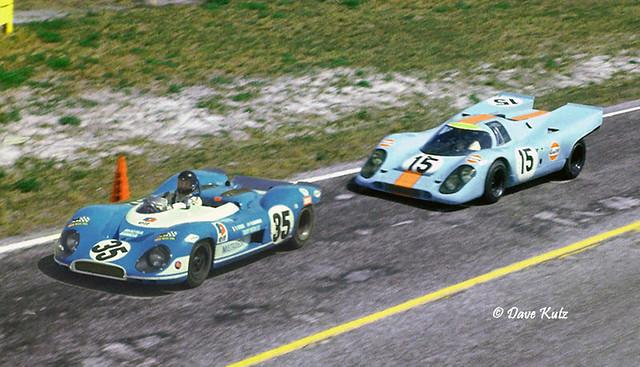 1970 Sebring 12 hour GP - Matra vs Porsche