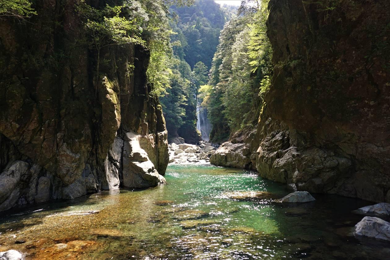 近畿の秘境・大杉谷渓谷