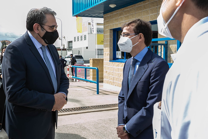 Visita al Centro de Investigación Básica de la multinacional farmacéutica Janssen