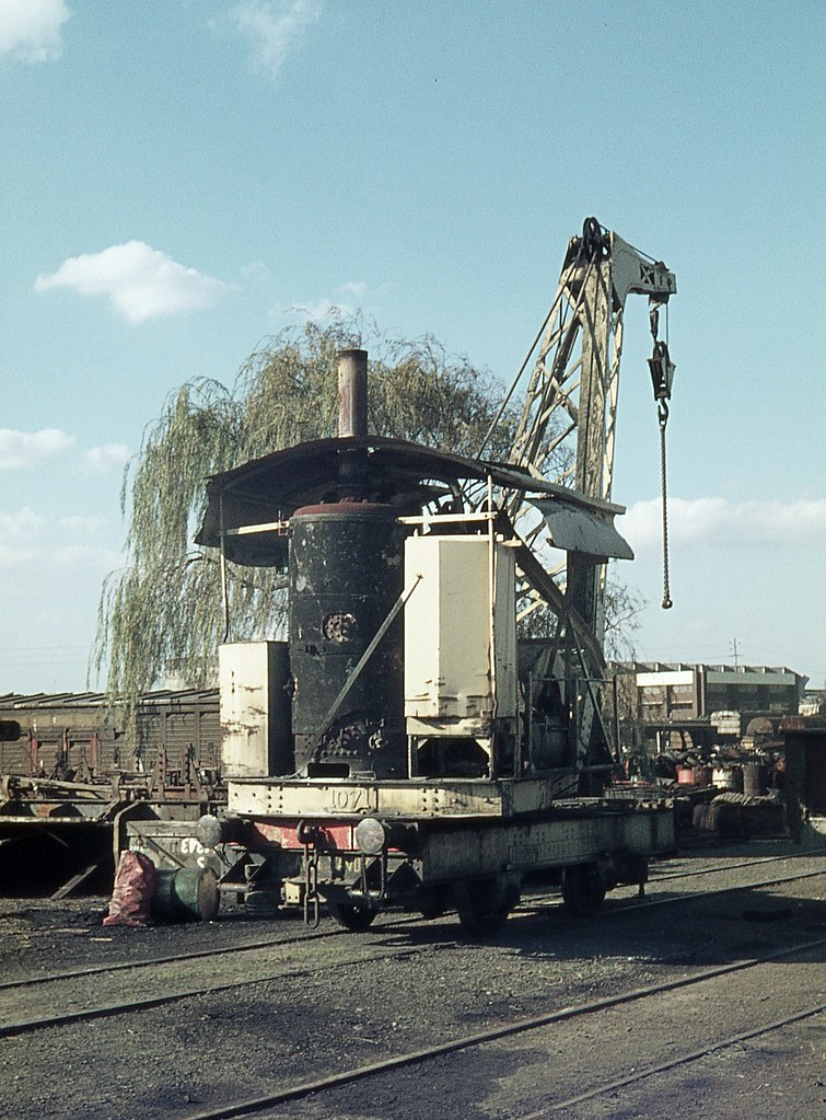 5 ton steam crane, Chullora, Sydney, NSW.