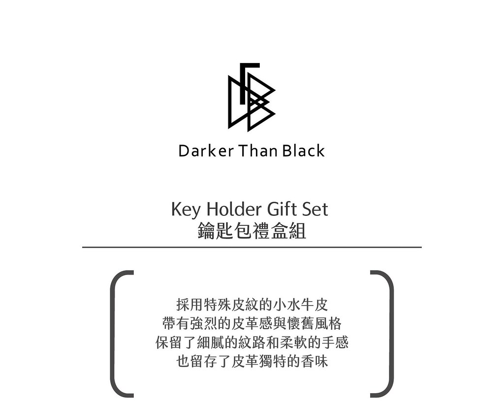 Key Holder Gift Set 鑰匙包組合